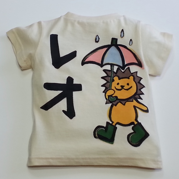 手描きらいおんYシャツ&ロンパース