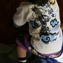 竜柄の和風手描きと名前入り、喜びの声は太郎と花子にとって何よりの励みです!