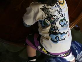 竜tシャツと男の子名入れTシャツ