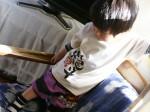 竜tシャツと男の子