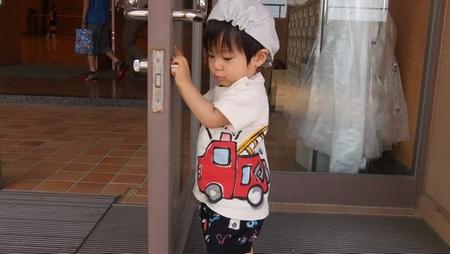 消防車君!