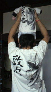 和柄お揃いTシャツ