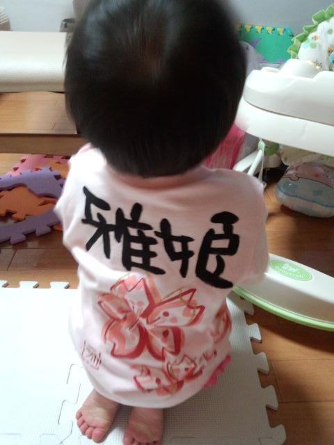 桜の女の子tシャツ!