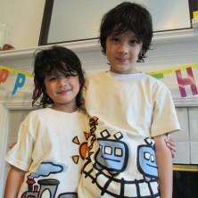 のりものTシャツ 電車&汽車が男の子に人気急上昇